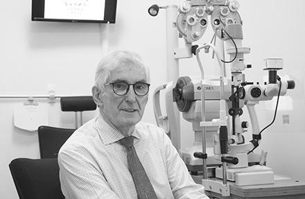 image of Dr Alan Johnston Optometrist